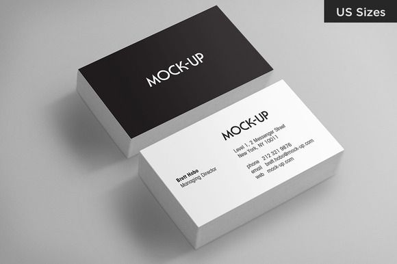 Business card mockups us sizes mockup business cards and check out business card mockups us sizes by dashwood on creative market reheart Gallery