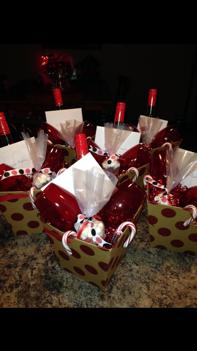 Wine Wine Glasses Hot Chocolate And Candy Canes