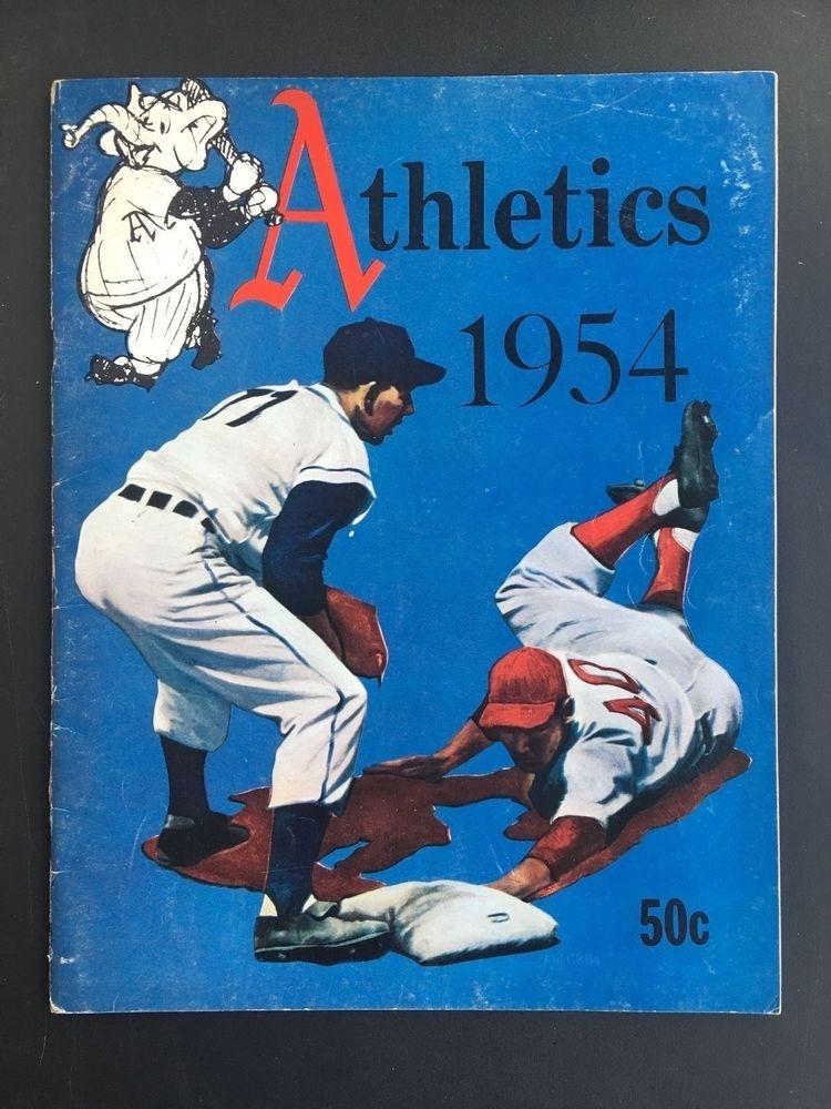 1954 philadelphia athletics yearbook philadelphia