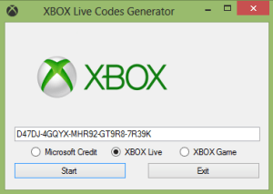 Download Xbox Real-Time Code Generator for FREE 2 days  We give the