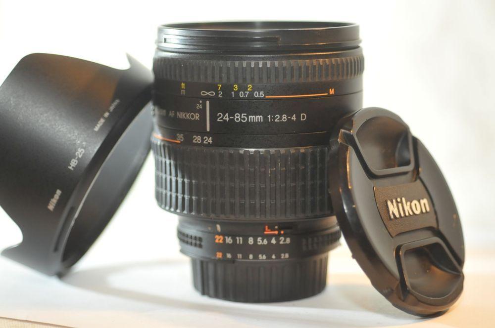 Mint W Hood Nikon Af Nikkor 28 105mm F 3 5 4 5 D Zoom Macro Lens From Japan Ebay Nikon Camera Lenses Lens