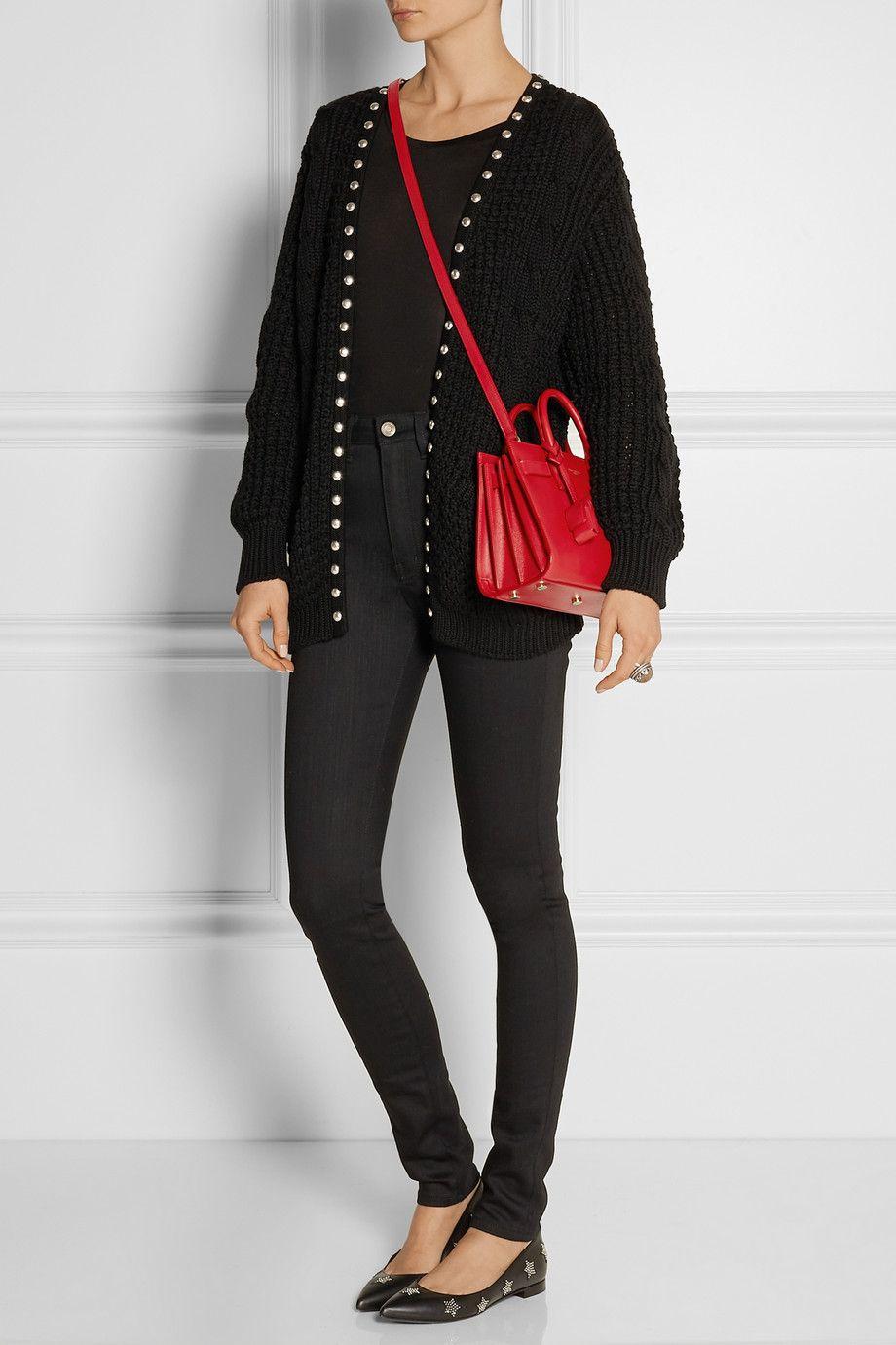 Saint Laurent   Sac De Jour Nano mini leather shoulder bag