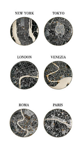 Seletti the world dinnerware map plates yes map love seletti the world dinnerware map plates yes gumiabroncs Gallery