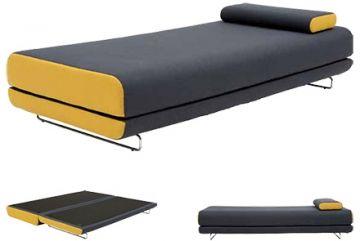 Shine (Sovesofa), Designer: Busk + Hertzog, Producent: Softline, Pris: 6280 kr, Materiale: Monteret med nozag fjedre. Betrukket i uld