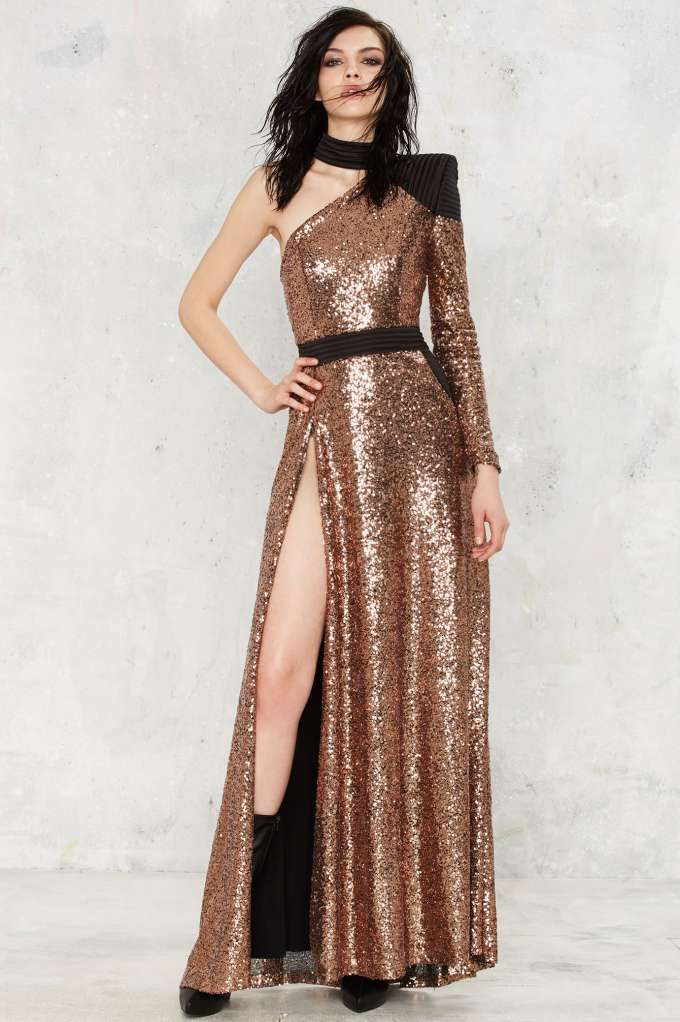 Zhivago Okrhana Sequin Dress Shop Clothes At Nasty Gal Couture