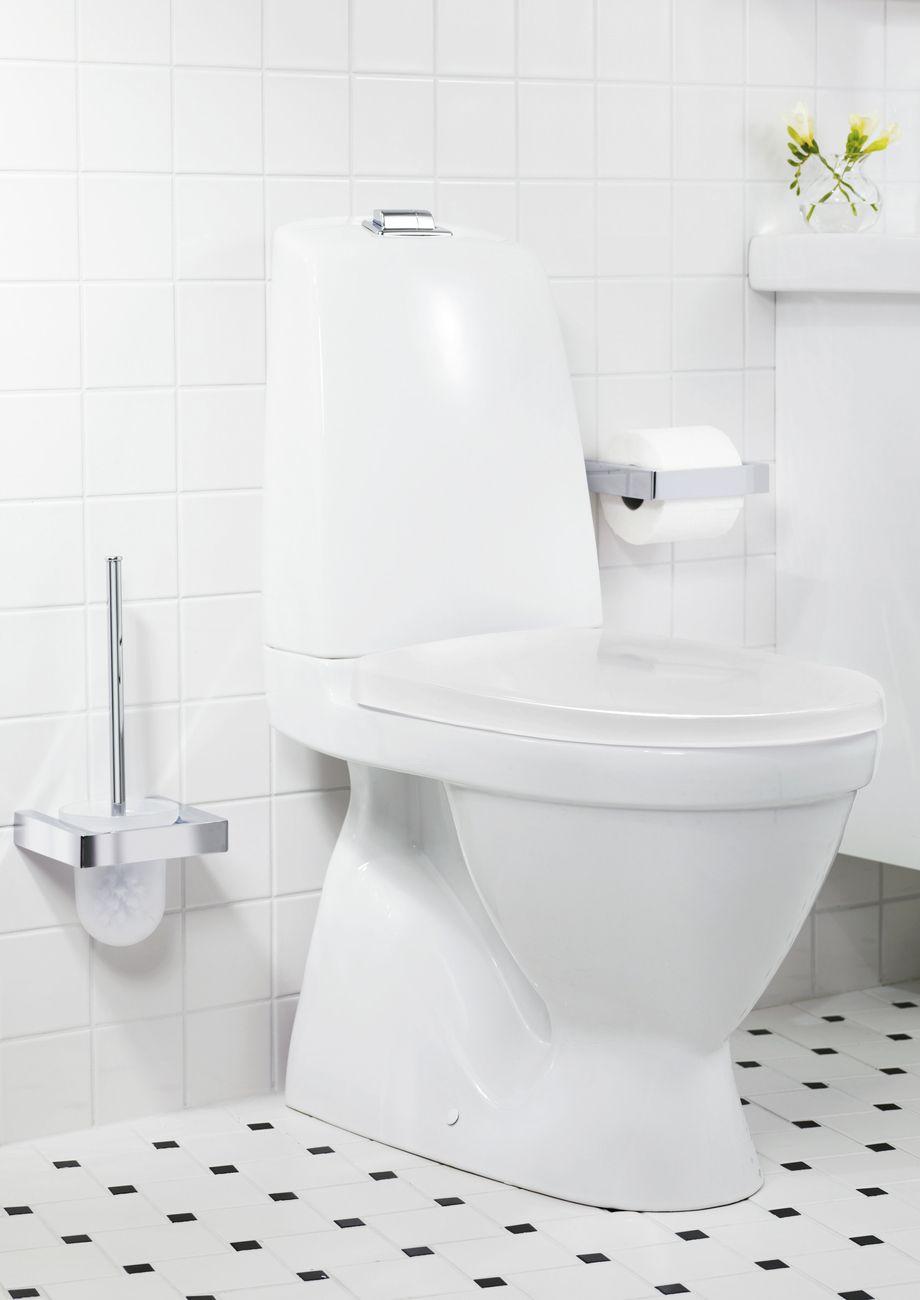 Toalettstol från Nautic med dubbelspolning. | GUSTAVSBERG | Nautic ...