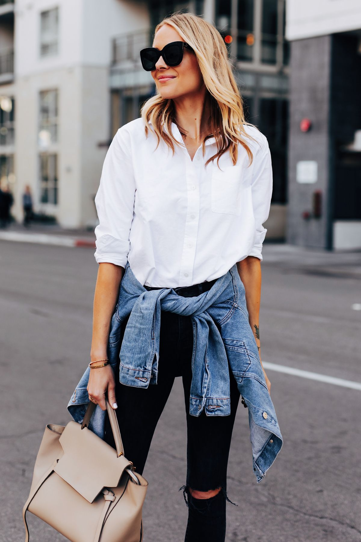 Wearing button down as a dress is a great idea. If you want