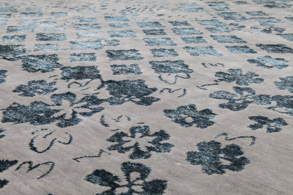Wool rug MOSAIC 009 100 Icon Collection by Sirecom Tappeti design Reverso Design