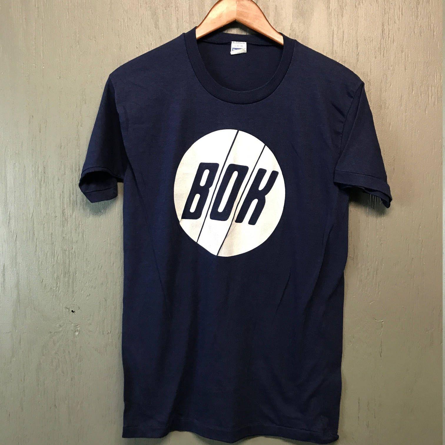 S * nos thin vintage 80s BOK t shirt