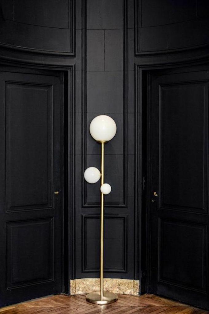 lampadaire diy lampe boule