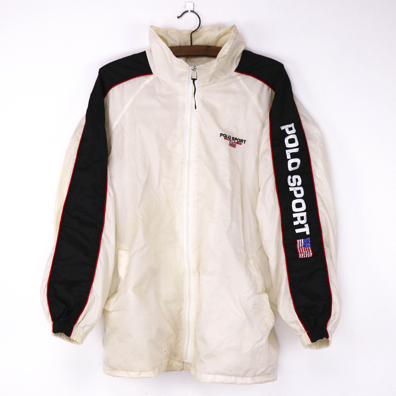 Vintage 90s Polo Sport Ralph Lauren Windbreaker Hoodies Jacket by HITZSHOP  on Etsy 00baa914e