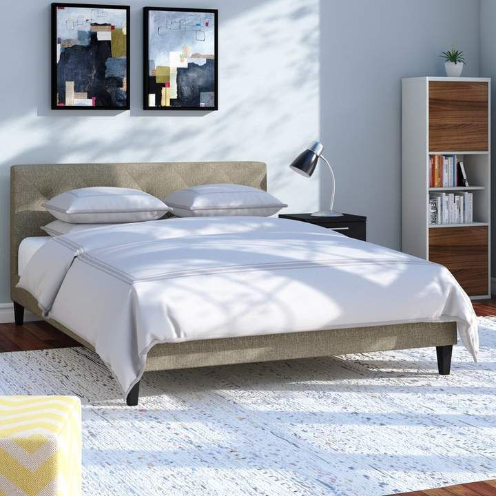 Wrought Studio Feliciano Upholstered Platform Bed Upholstered