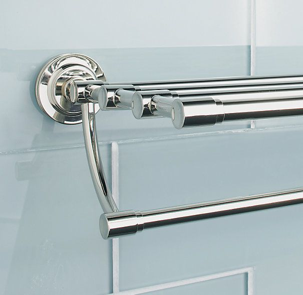 Asbury Train Rack | Restoration Hardware   One Of These In Each Bathroom  Above The Toilet