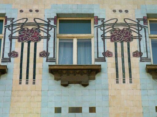 Facade in Zagreb, Croatia