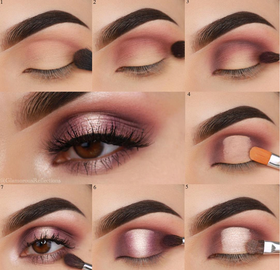 Deepest Eye Makeup Easy Step By Step Makeup Ideas Simple Eye Makeup For Begin In 2020 Matte Eye Makeup Eye Makeup Steps Dramatic Eye Makeup
