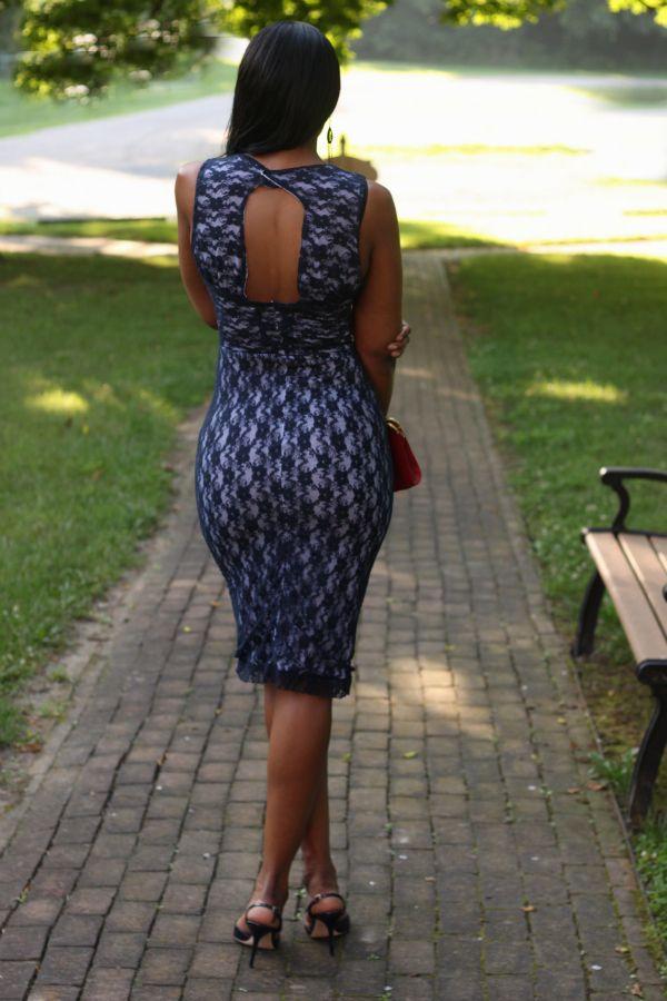 DIY-Lace Overlay Dress-Beaute' J'adore