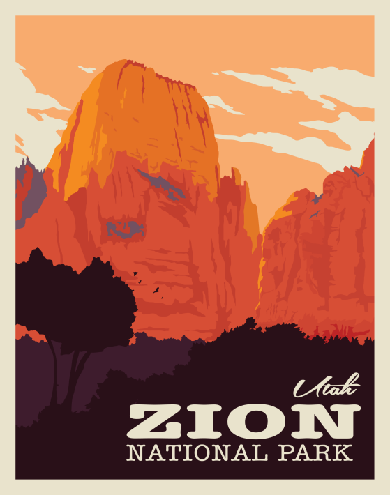 Pin On Vintage Style Travel Posters Original Artwork