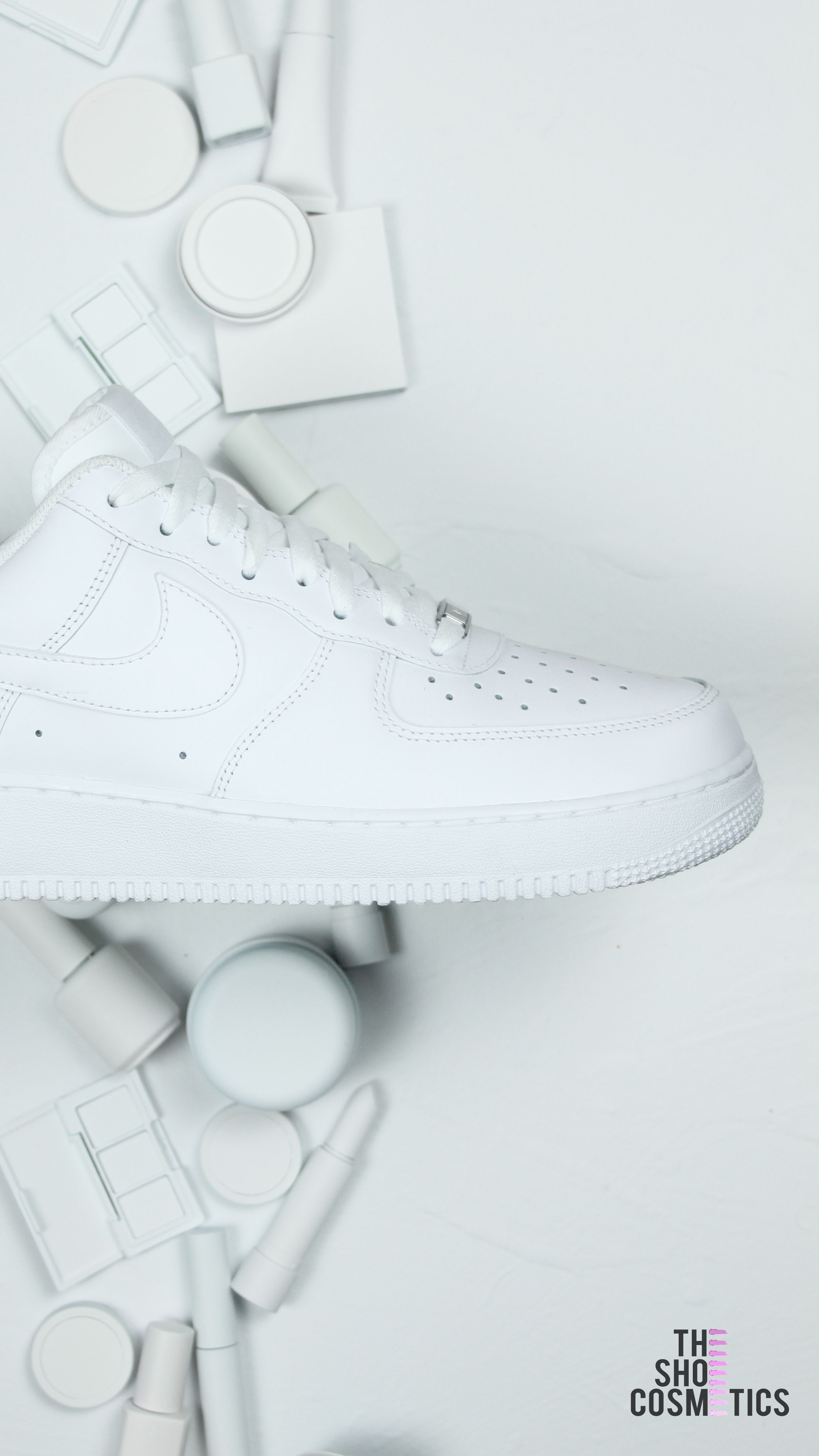 07e86964fe86 Looking to create your own Nike Air Force 1 custom sneakers  You can turn  these all white Nike sneakers into your own custom Nike shoes here at ...