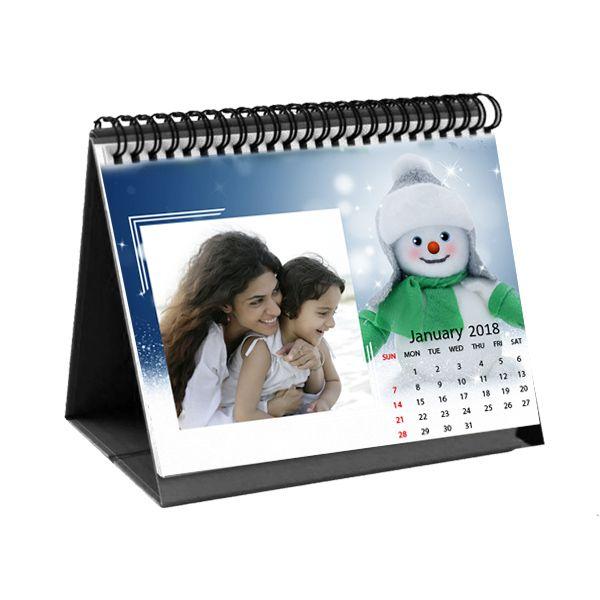 Personalized Photo Desk Calendars Printable Calendar For 2018