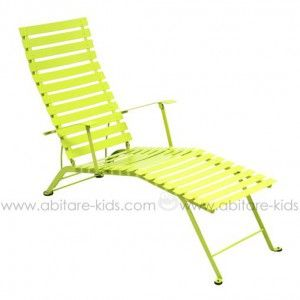 Bistro By Fermob Chaise Longue Verveine Outdoor Chairs Outdoor Furniture Fermob