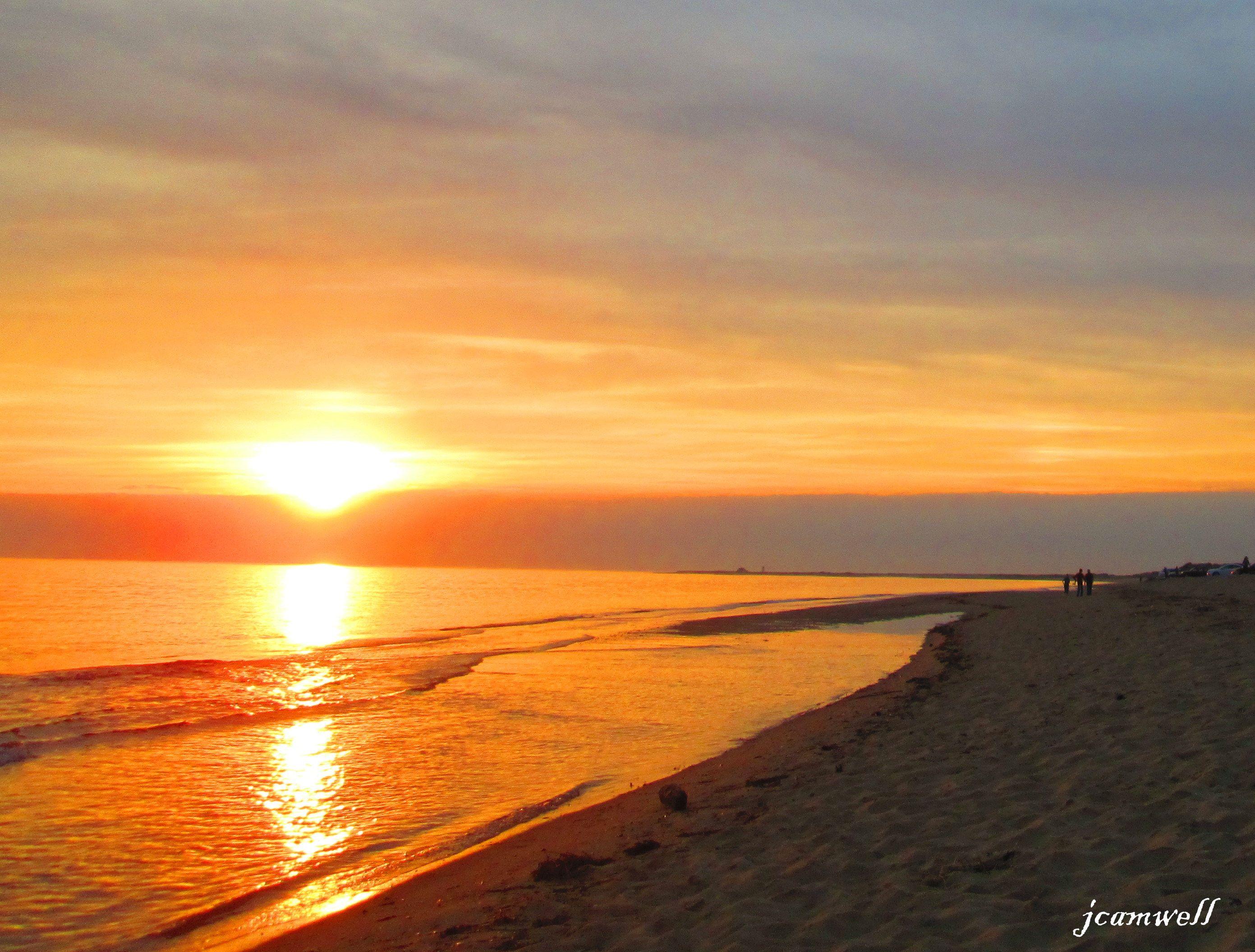 Herring Cove - Cape Cod - at sunset  photo by Jude Nagurney Camwell
