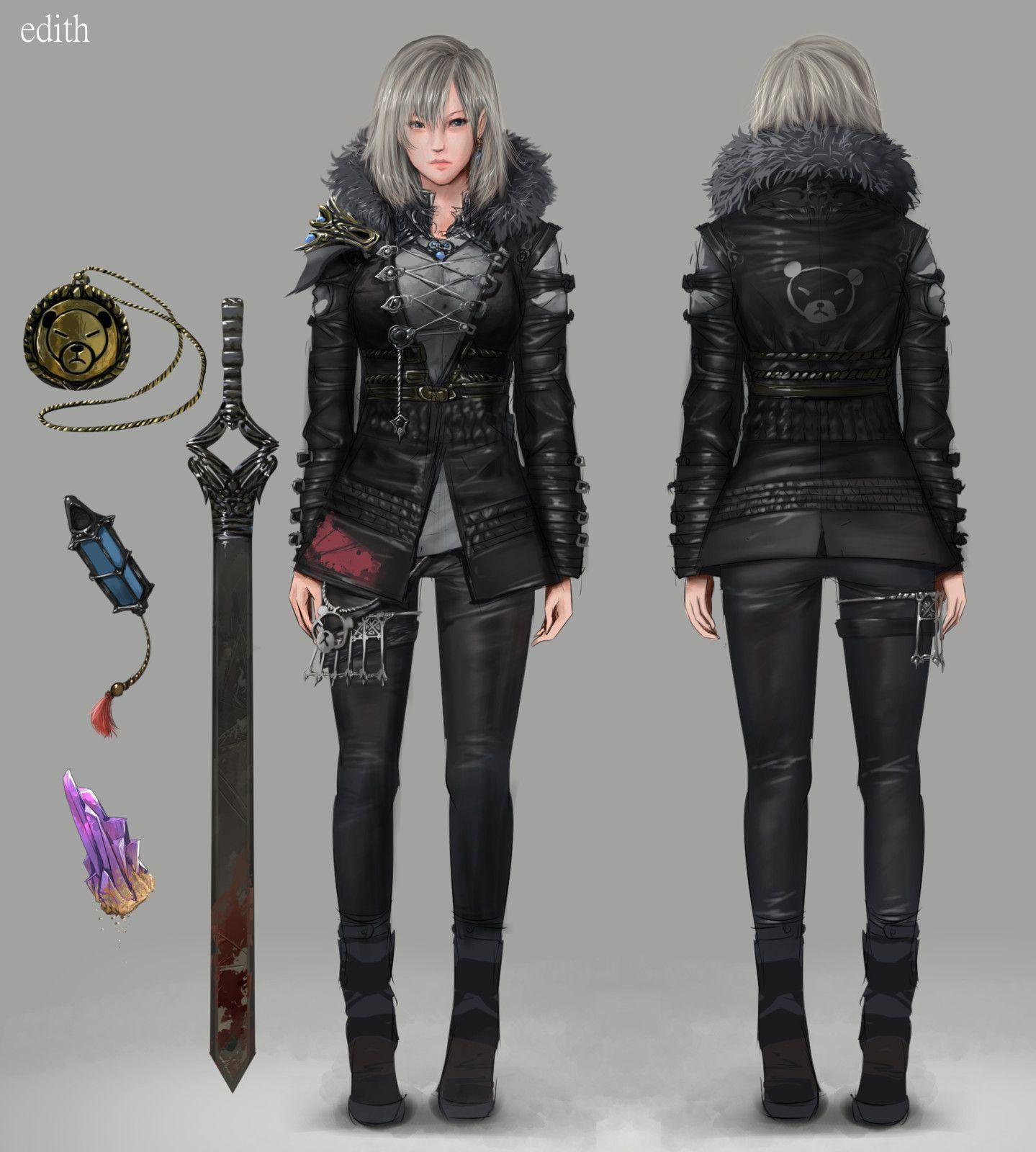 Character Design Parka : Character design edith mawa setiawan on artstation at