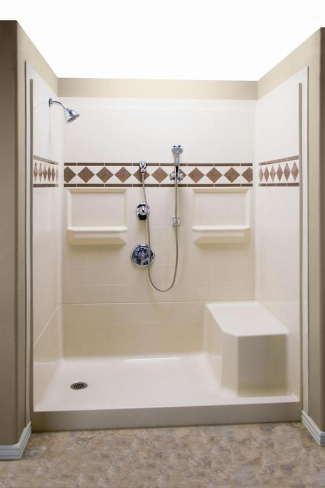 Complete Your Bathroom Shower With Lowes Shower Stall Design 21