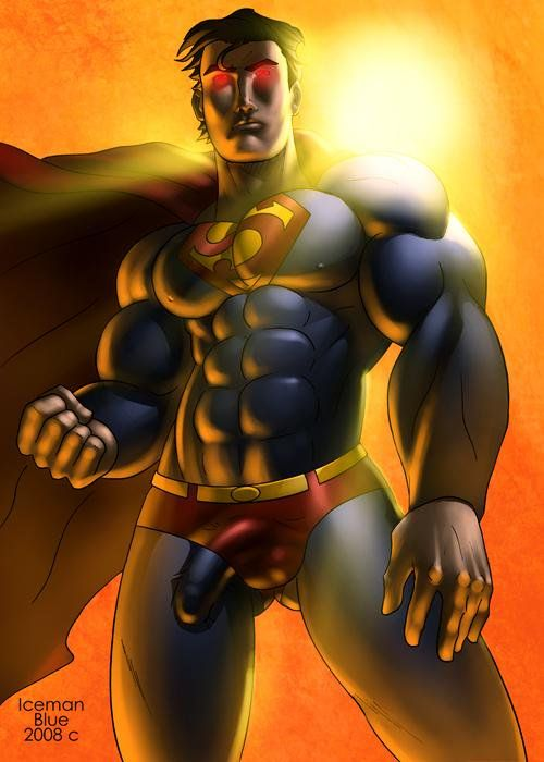 Intimidating superhero poses
