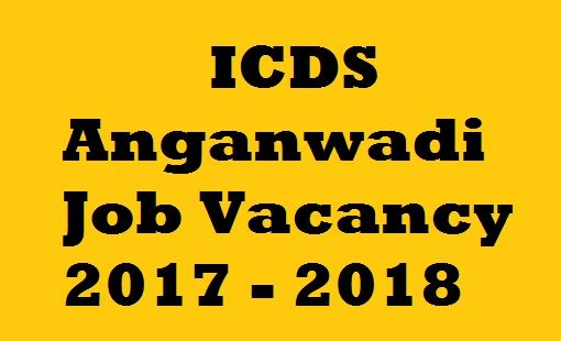 Delhi Anganwadi Recruitment  Worker Online Application Form