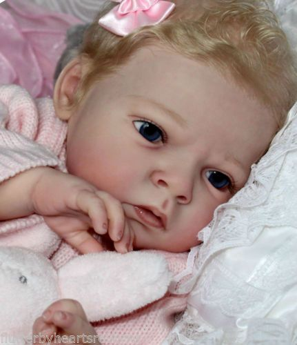 Beautiful Blonde Reborn Baby Girl Holly - from Sabrina kit by Reva Schick | eBay