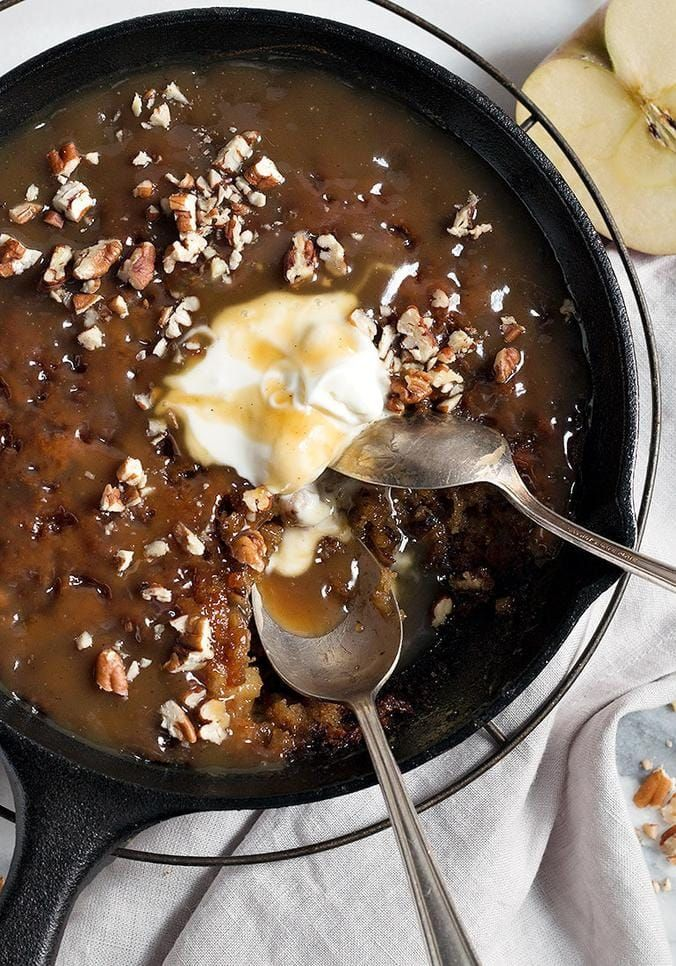 Photo of Sticky Toffee Apple Pudding