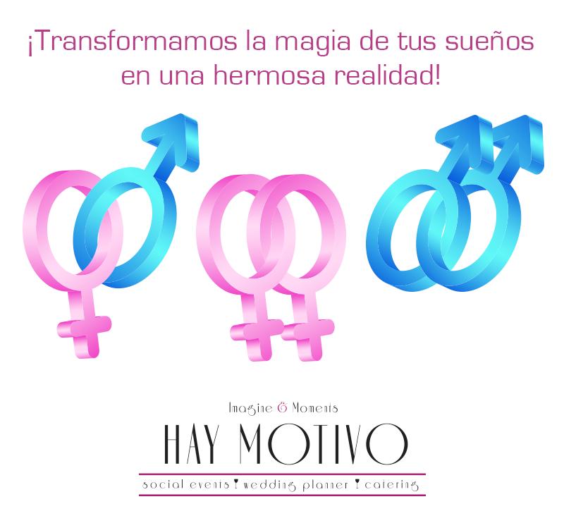 #HayMotivo para hacer tus #sueños realidad ¡Nosotros te ayudamos! #Bodas #MatrimoniosIgualitarios