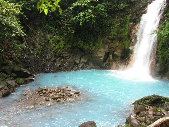 Rio Celeste-Costa Rica