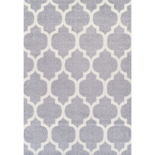 Found it at AllModern - Finesse Dalyn Silver Area Rug