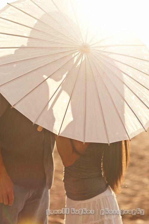 A Couple and an Umbrella