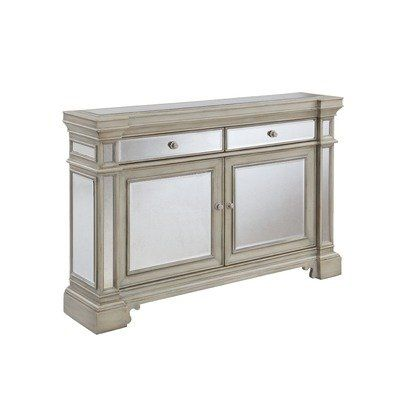 For The Entry Wall Only 12 Deep Mirrored Credenza Furniture Home