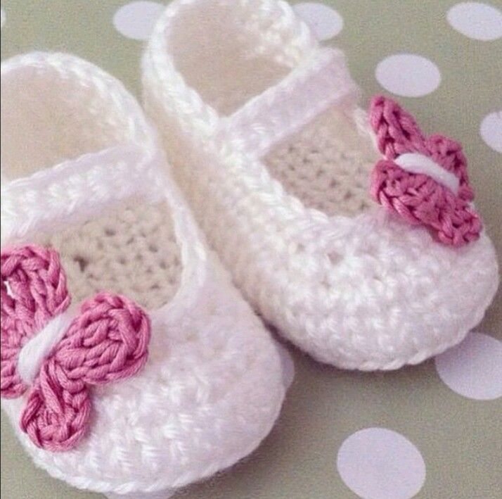 Instagram. PICTURE ONLY for inspiration. Crochet baby booties ...