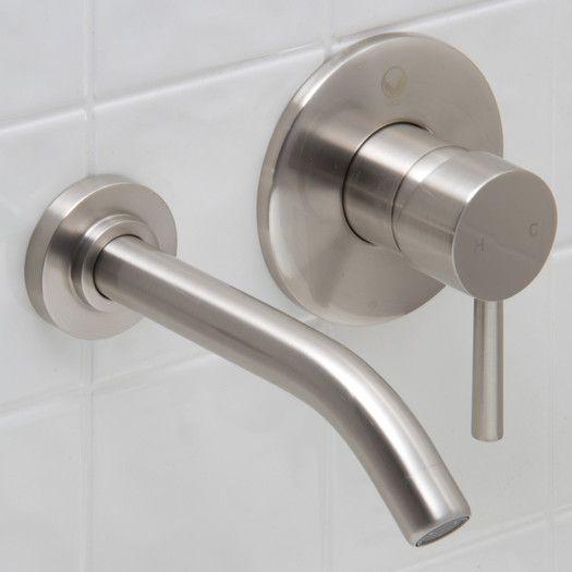 Vigo Bathroom Faucets vigo wall mounted bathroom faucet with single lever handle | bath