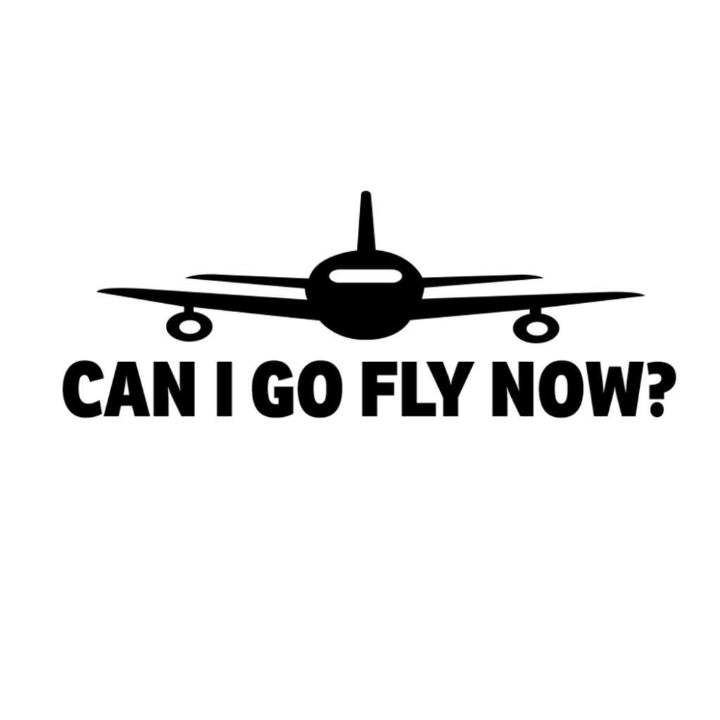 Can I Go Fly Now Aviation Pilot Decal Sticker Find Out More About The Great Product At The Image Link Decals Stickers Stickers Wall Sticker [ 1024 x 1024 Pixel ]