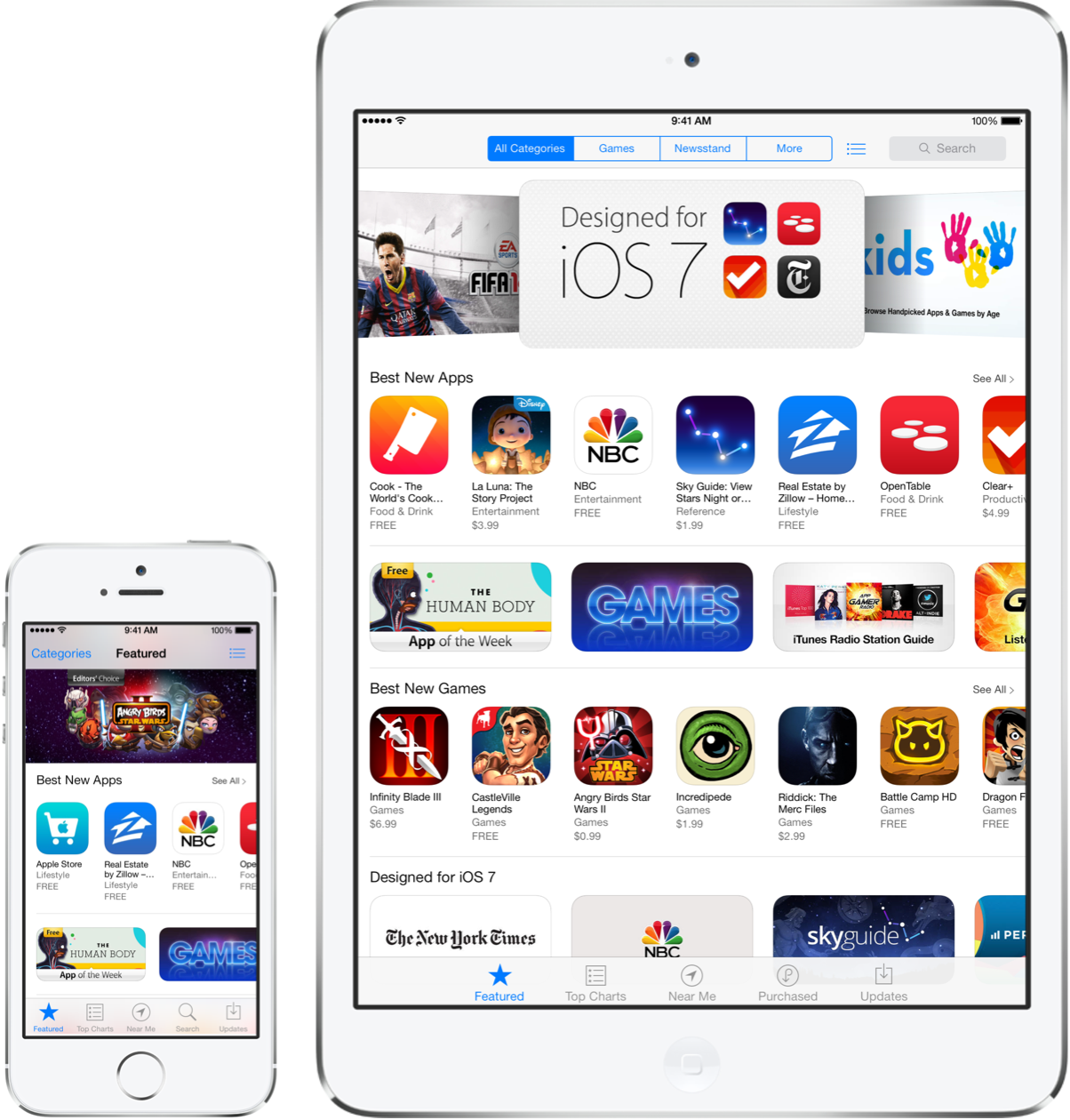 hook up ios apps