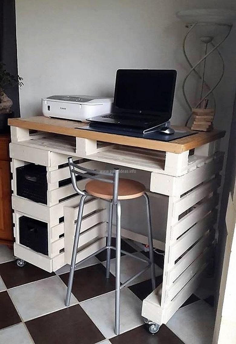 Reused Pallet System Desk Requejo Pinterest Reciclado  # Muebles Requejo