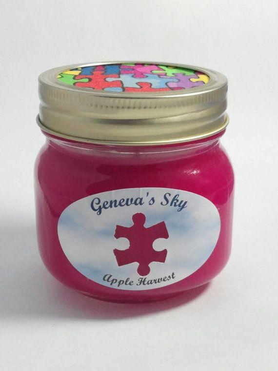 Autism awareness gift for autism mom teacher friend. por GenevasSky