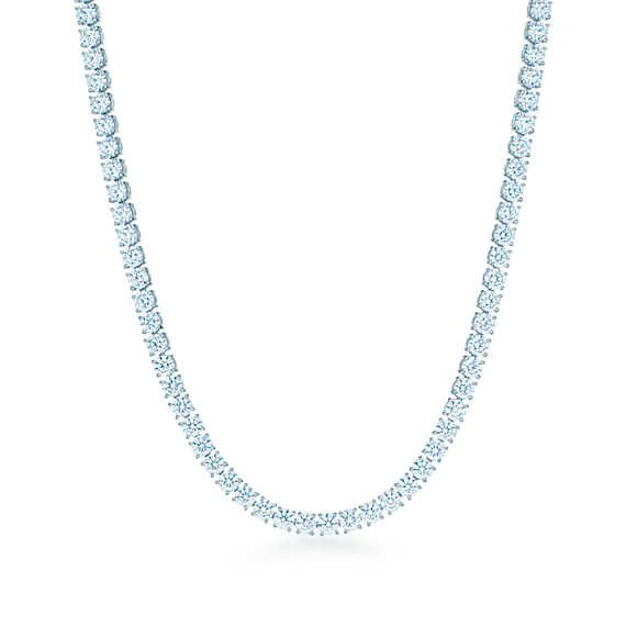 Tiffany&Co Diamond line necklace