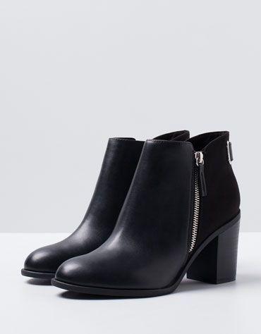 Chaussures automne à fermeture éclair rouges femme sZFtnsZZ7h