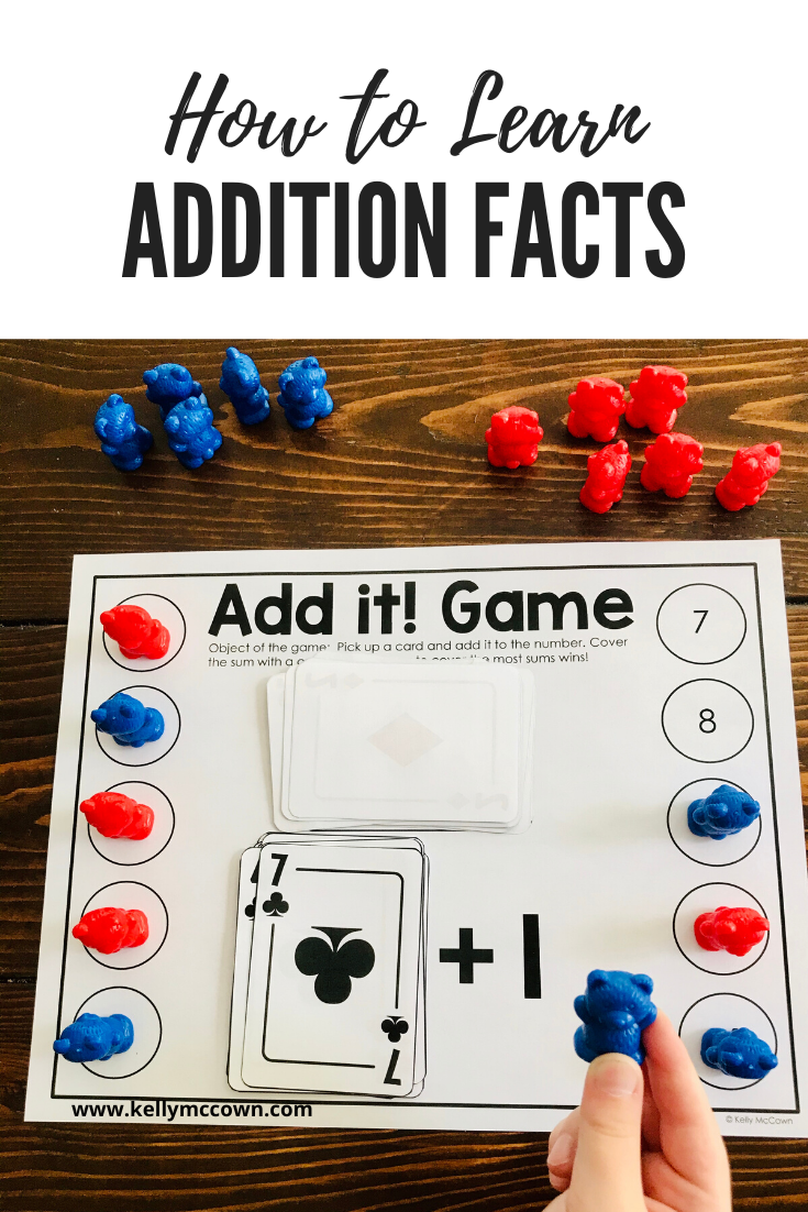 Learning Addition Math Facts with a Checklist