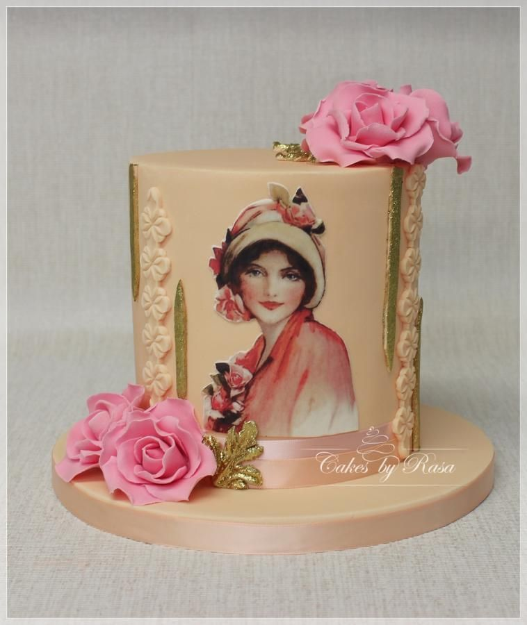 Vintage romantic by Cakes by Rasa