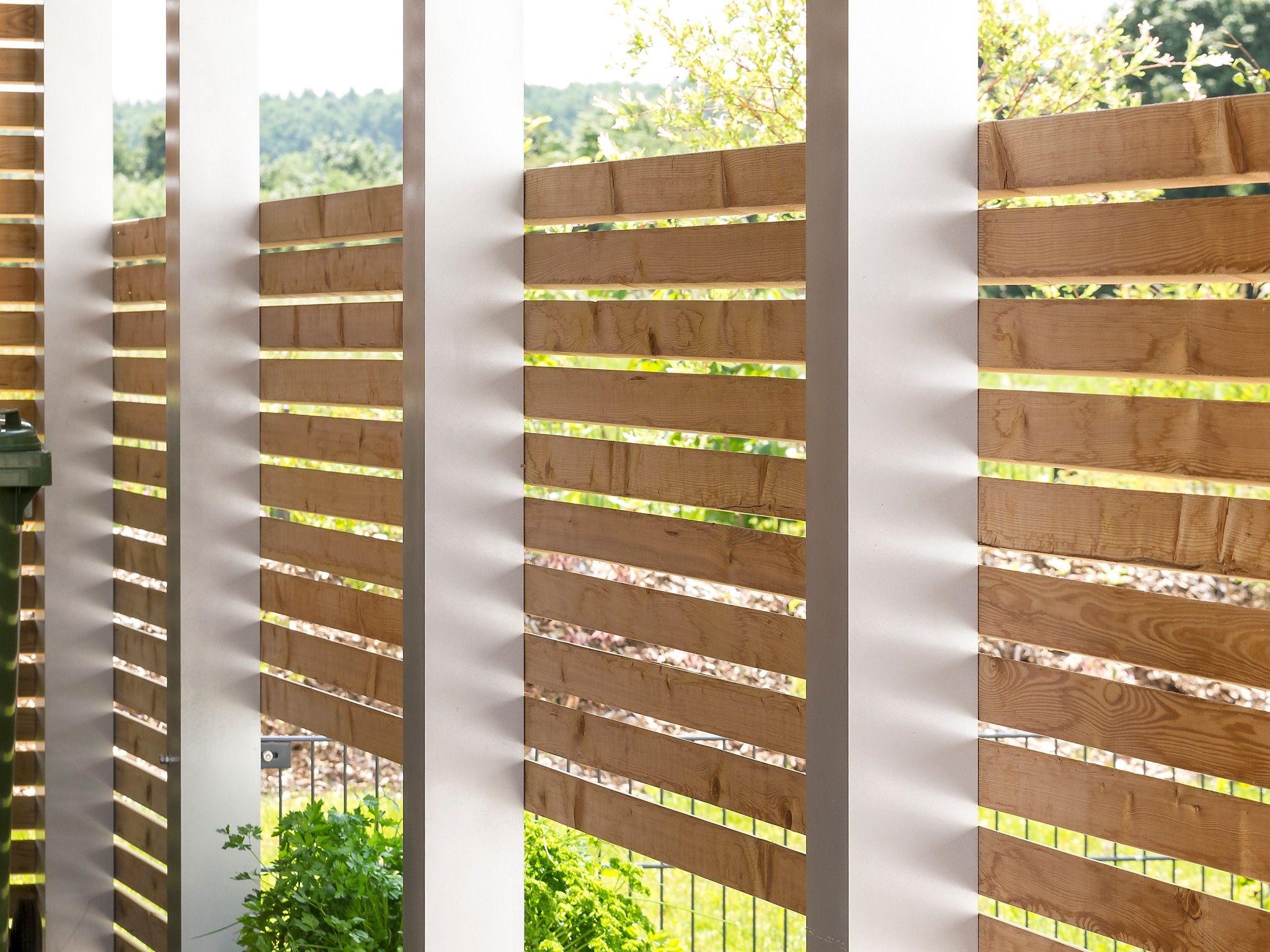 Im Einklang mit der Natur. Für die Außengestaltung besticht Holz ...