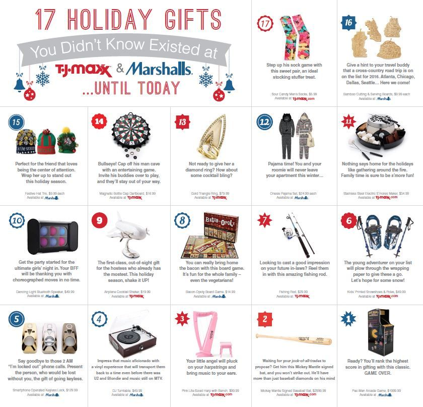 17 Holiday Gifts You Didn't Know Existed at T.J.Maxx & Marshalls… Until Today! ~ 25 Days of ...