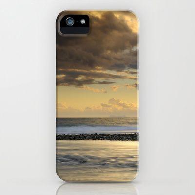 Gibraltar. Mediterranean sea at sunset. iPhone & iPod Case by Guido Montañés - $35.00