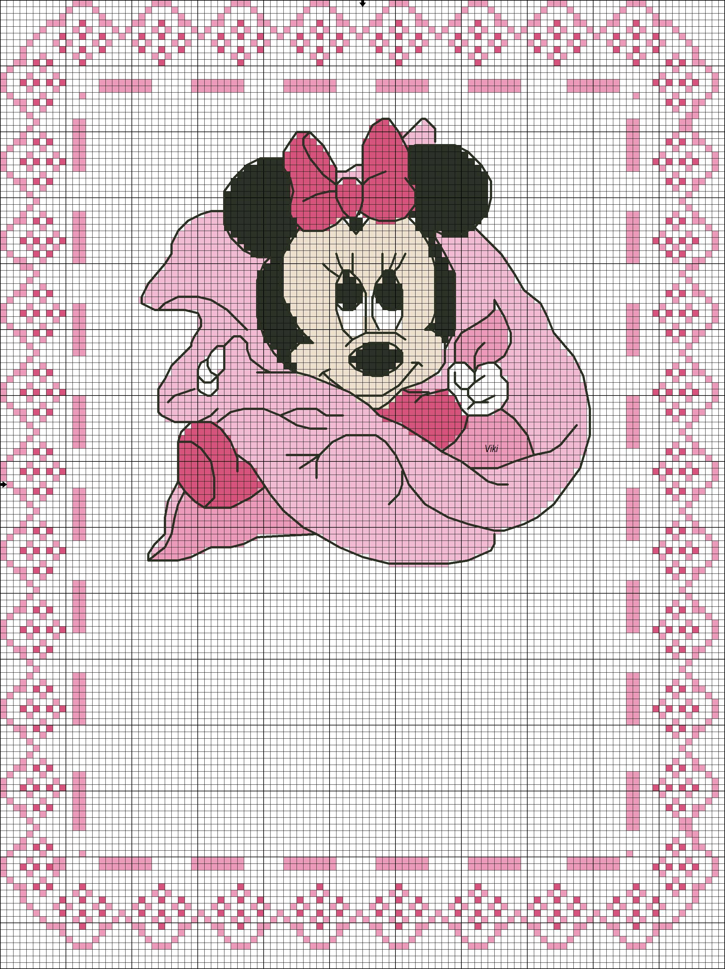 Pin Di Rosro Su Schemi Punto Croce Disney Punto Croce